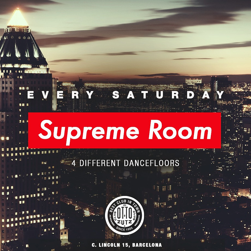 SUPREME ROOM SATURDAYS