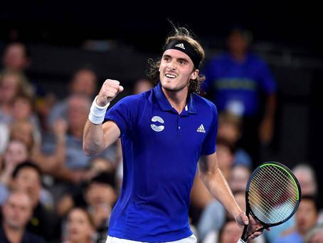 Τένις | ATP Cup: Ισοφάρισε ο Τσιτσιπάς (Ελλάδα - Αυστραλία 1-1)