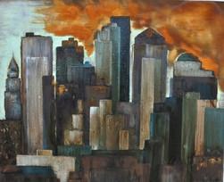 Skyline-New-York-City-Barbara-Holter-Acryl-auf-Leinwand-Bilder2012-Rosteffekt-Österreich-Malerei-Malerin-Gemälde.jpg