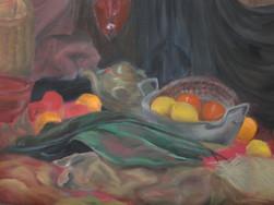 Orangen-und-Zitronen-mit-Teekanne-Barbara-Holter-Ölbilder2014-Stillleben-Österreich-Malerei-Malerin-Gemälde.jpg