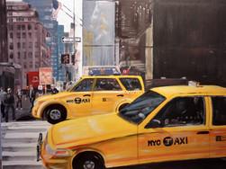 Taxi-Manhatten-New-York-Barbara-Holter-Acryl-auf-Leinwand-Bilder2010-Urban-Österreich-Malerei-Malerin-Gemälde.jpg