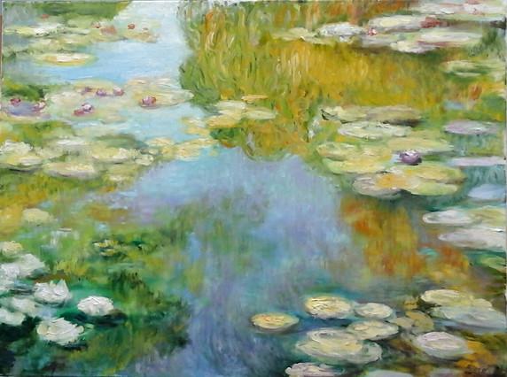 Seerosen-nach-Monet-Barbara-Holter-Ölbilder2017-Österreich-Malerei-Malerin-Gemälde.jpg