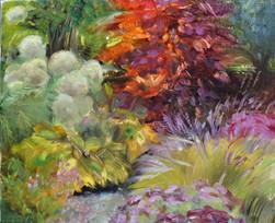 Herbst-am-Teich-Barbara-Holter-Ölbilder2017-Natur-Abstrahiert-Österreich-Malerei-Malerin-Gemälde