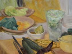 Gurke-mit-Kürbis-Barbara-Holter-Ölbilder2014-Stillleben-Österreich-Malerei-Malerin-Gemälde.jpg