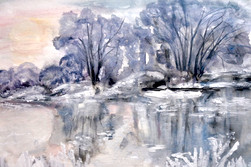 Wintersee-Barbara-Holter-Aquarell2018-Natur-Bilder-Österreich-Malerei-Malerin-Gemälde.JPG