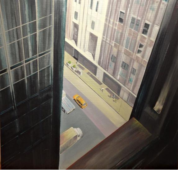 Blick-Hotelzimmer-Manhatten-New-York-Barbara-Holter-Acryl-auf-Leinwand-Bilder2010-Urban-Österreich-Malerei-Malerin-Gemälde.jpg