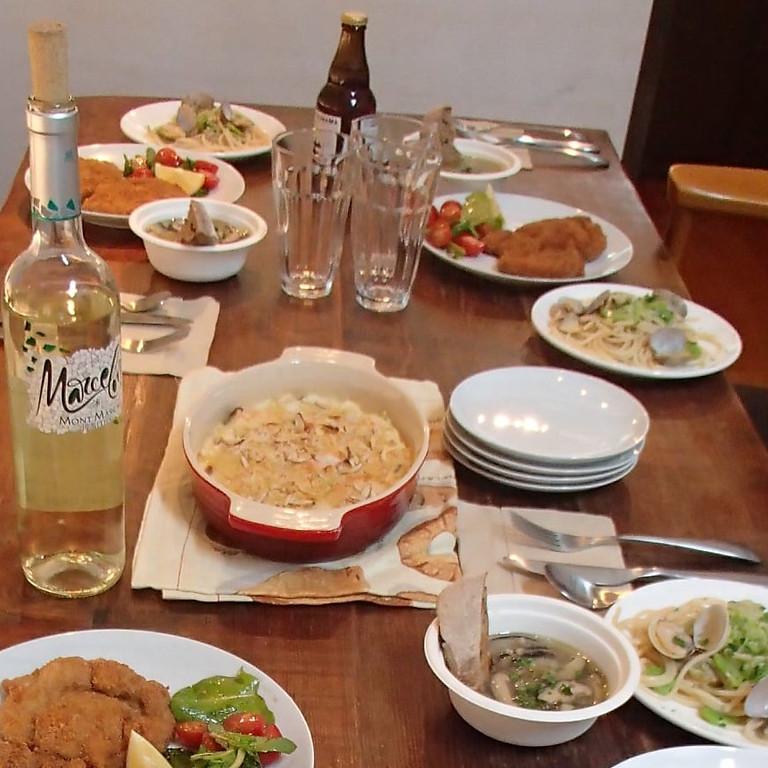 第三回アスリートに効くイタリア料理教室
