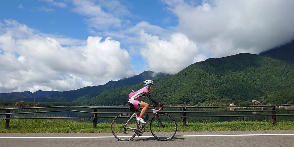富士山1周サイクリング+山中湖ランニングキャンプ
