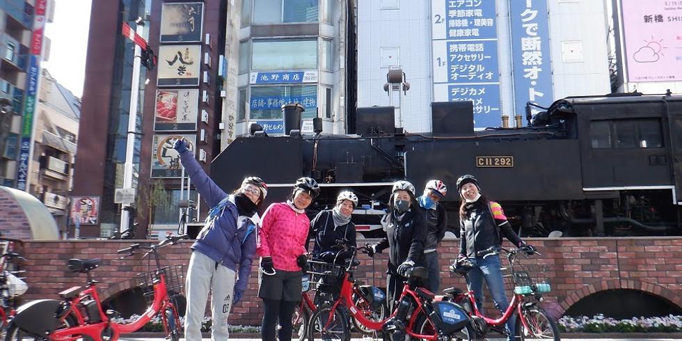 🚴♀️チリンチリン🚲秋の山手線1周サイクリングツアー