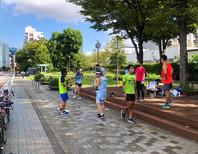Go. Run 高浜運河にて「ヤッソ800」