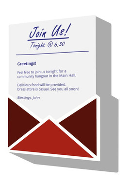 YWAM - Example Event Invite 3D - Compres