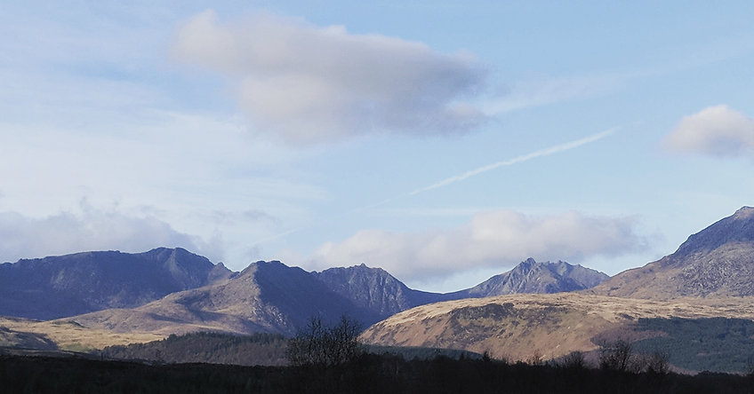 A Weekend in the Isle of Arran | Arran is blessed wih stunning mountain scenery