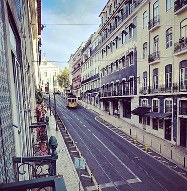 A Weekend In Lisbon.  Tram Number 24.