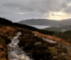 A Weekend in the Isle of Arran | Views from Goatfell - Mountain Stream