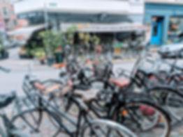 Bikes are a great way to get around Copenhagen  |  A Weekend in Copenhagen