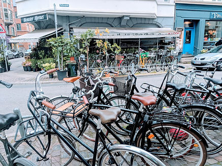 Bikes are a great way to get around Copenhagen  |  A Weekend in Copenhagen