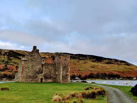 A Weekend in the Isle of Arran | Lochranza Castle