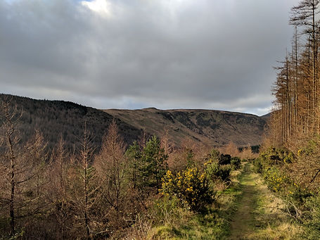 A Weekend in the Isle of Arran | The Glen Rosa Valley
