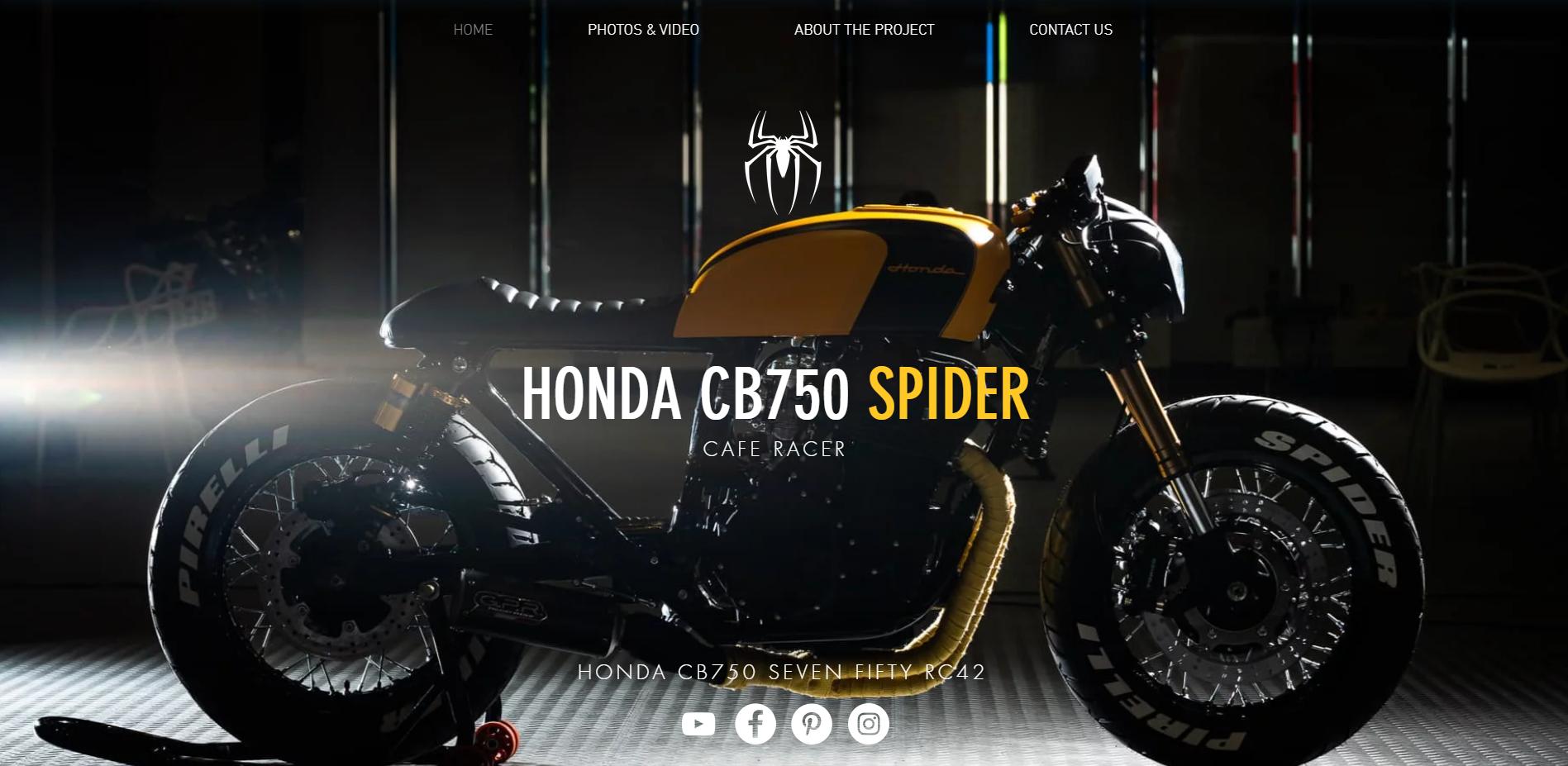 Home Honda Cb750 Spider