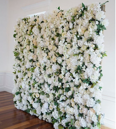 CLASSIC WHITE WINCHESTER CATHEDRAL ROSE WALL