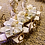 Thumbnail: WHITE AND GOLD SERPETINE TABLE