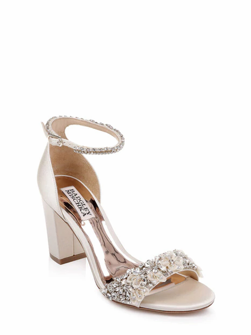 FINESSE ANKLE STRAP EVENING SHOE