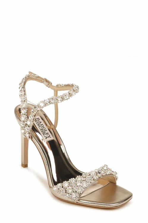 GALIA CRYSTAL ANKLE STRAP EVENING SHOE