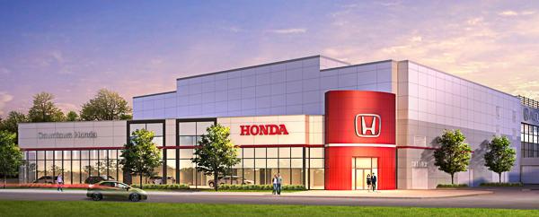Downtown Honda Render