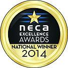 NECA_GoldAwardMedal_2014_EXCELLENCE_Nati