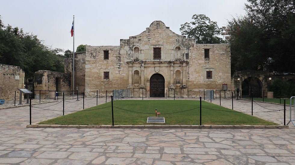 Photography - The Alamo - San Antonio Tx - on canvas mounted on Gatorboard