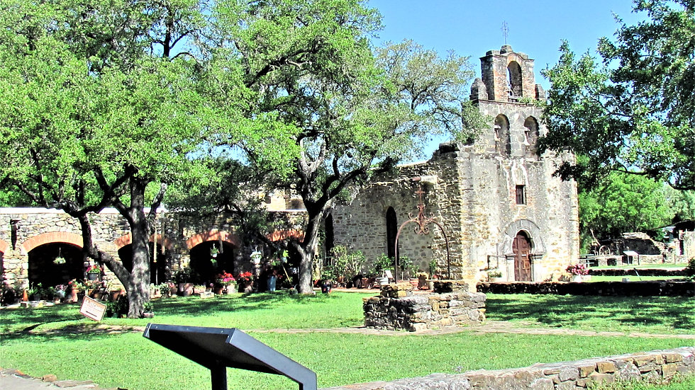 Photography - Mission San Francisco de la Espada - on paper matte