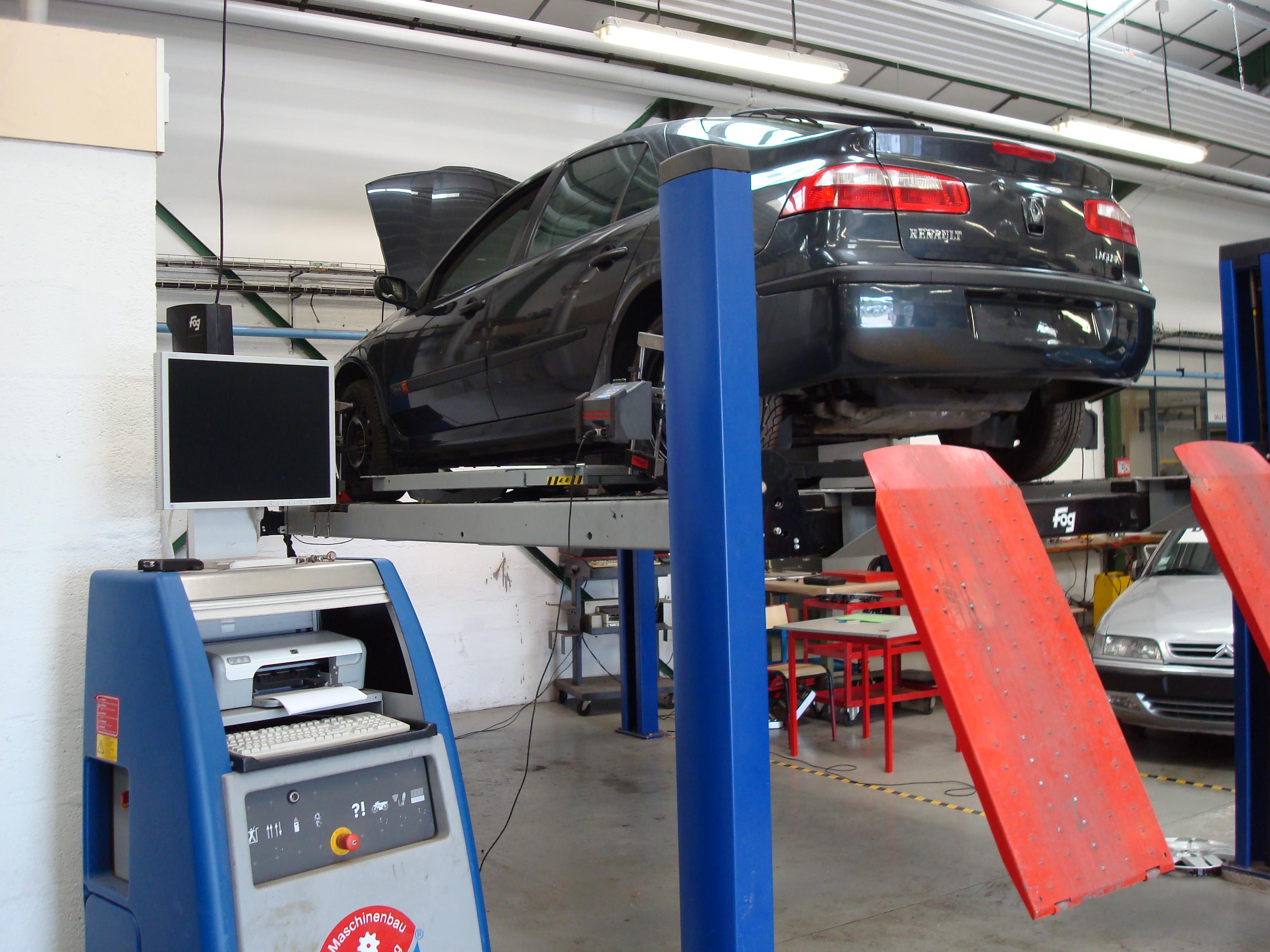 CAP Maintenance des véhicules