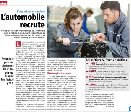 Le secteur Automobile recrute