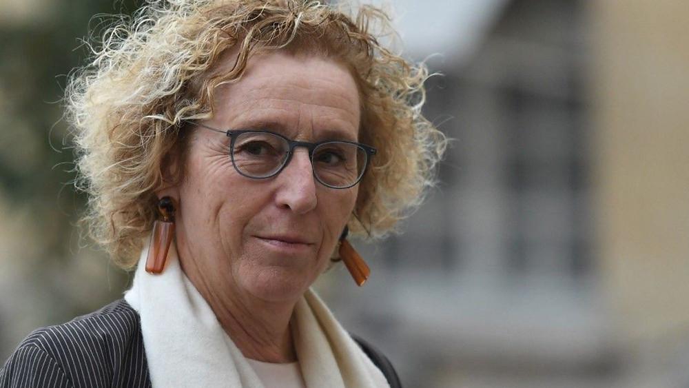 """""""Les entreprises qui recruteront un apprenti bénéficieront d'une aide élargie à l'embauche de 5000 à 8000 euros"""", a annoncé Muriel Pénicaud le 4 juin. AFP"""