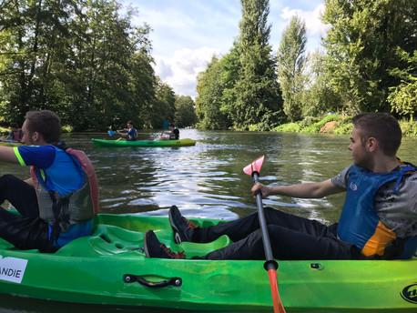 La sortie kayak du 19 septembre en photos et en vidéo !