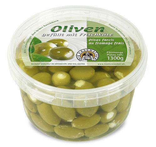 Oliven gefüllt mit Frischkäse 1300g