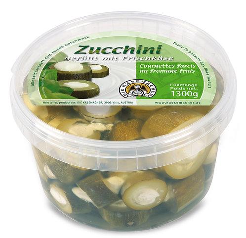 Zucchini gefüllt mit Frischkäse 1300g