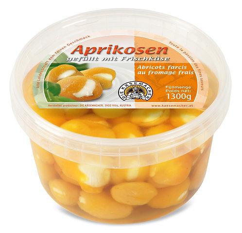 Aprikosen gefüllt mit Frischkäse 1300g