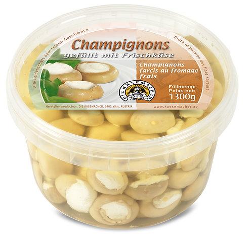 Champignons gefüllt mit Frischkäse 1300g