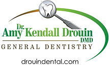 Amy Kendall Drouin DMD - Logo with websi