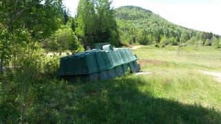 Coupes forestières et déchets septiques