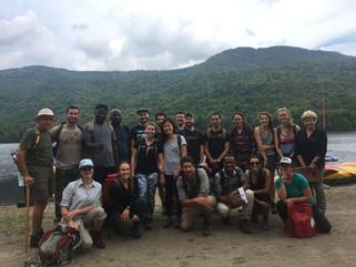 La Coalition a rencontré le 5 septembre dernier, au pied du Mont Kaaikop, 2 professeurs et 18 étudia