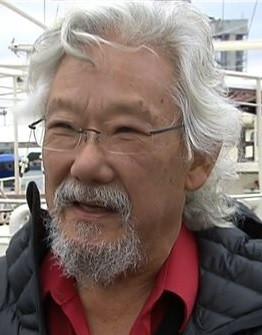 Un David Suzuki très inspiré au Parc Maisonneuve!