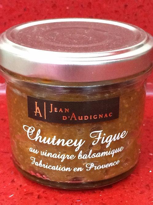 Chutney figue au vinaigre balsamique