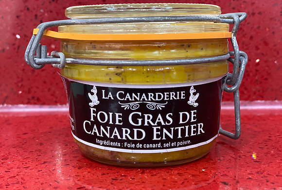 Foie Gras de canard entier bocal 150g