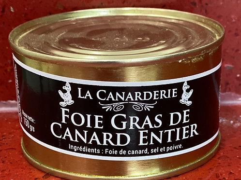 Foie gras de canard boite 150g