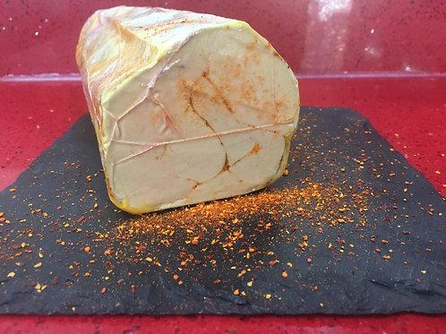 """Foie gras de canard entier mi-cuit au piment d'Espelette """"Le petit Basque"""" 200g"""