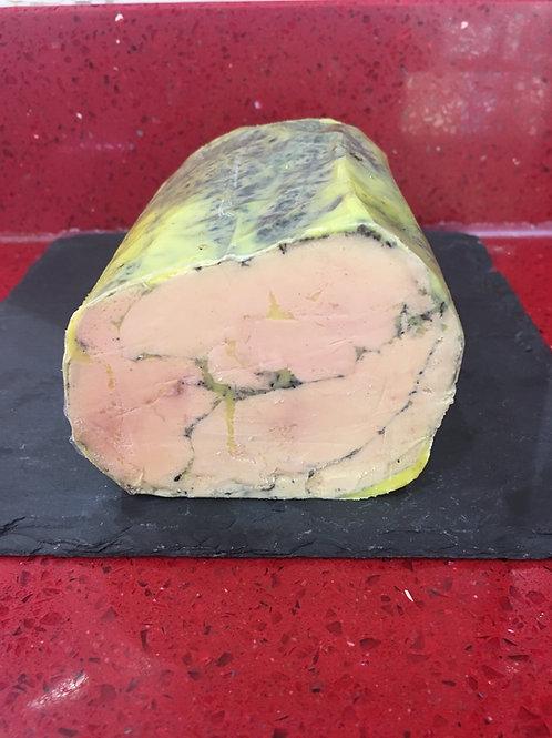 Foie gras de canard entier mi-cuit sel d'Hawaï et poivre de Sichuan 200g