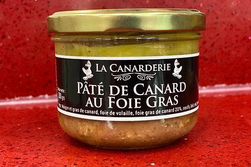 Pâté de canard au foie gras bocal 80 g