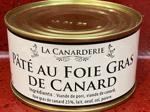 Pâté au foie gras de canard boite 200 g